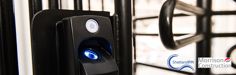 ievo provide robust, duel zone, biometric access control to construction site